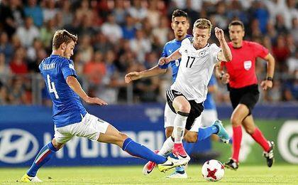 Italia derrotó a Alemania.