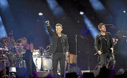 Imagen del concierto.