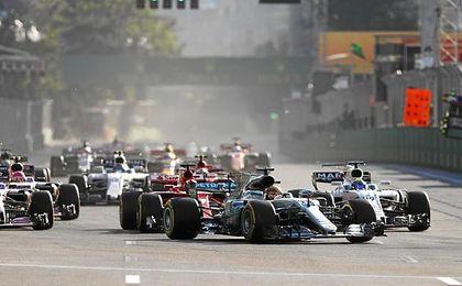 El inglés, en la carrera de Bakú.