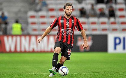 Baysse, en un partido disputado con el Niza la pasada temporada.