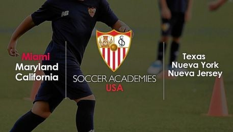 Las ciudades estadounidenses donde abrirá una academia el Sevilla.