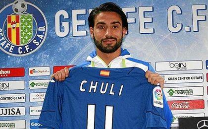 En 2015, el Almería pagó medio millón de euros al Betis por Chuli.