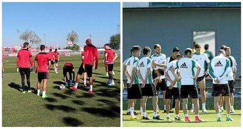 Real Betis y Sevilla FC preparan la pretemporada a la espera de nuevas incorporaciones.
