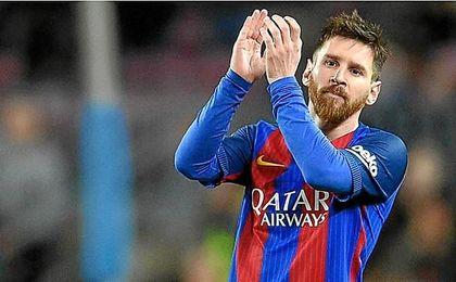 Leo Messi renueva con el FC Barcelona hasta 2021