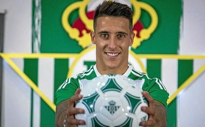 "Cristian Tello: ""Siempre me gustó el Betis"""