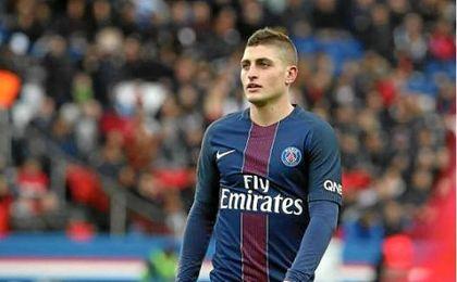 Verratti le da un disgusto al Barça
