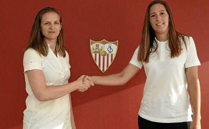 Jenni Morilla amplía su vinculación con el Sevilla