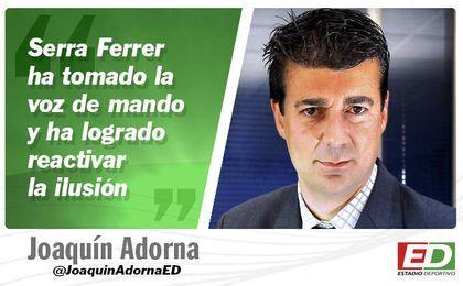 """Serra, los béticos y Joaquín """"acojonao"""""""