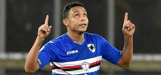Muriel celebrará sus goles en Nervión.