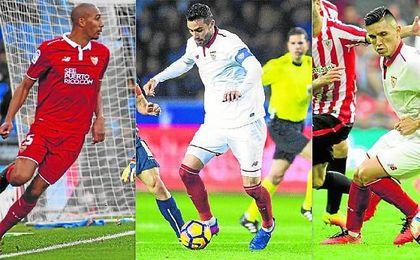 N´Zonzi podría hacer las maletas rumbo a la Juventus y seguir así los pasos de Iborra, traspasado al Leicester, y Kranevitter, de regreso al Atlético tras su cesión.