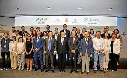 La Fundación la Caixa y el COE reúnen a los medallistas de Barcelona '92