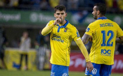 Setién reconoce interés por Tana, jugador de Las Palmas