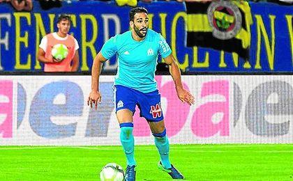 Rami se ha estrenado con la elástica del Olympique de Marsella en un amistoso.