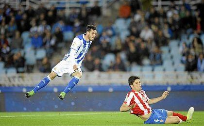 Meré llegó a pasar las pruebas con el Málaga.