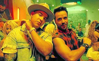 Daddy Yankke y Luis Fonsi cantan ´Despacito´.