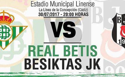 El Betis-Besiktas se jugará en La Línea