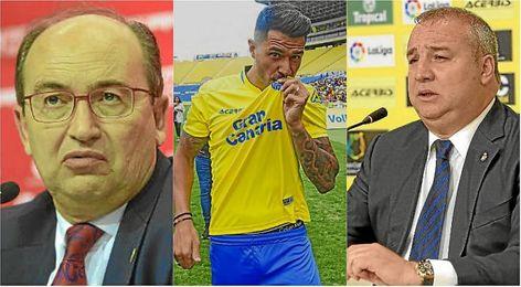 Las Palmas amenaza con denunciar al Sevilla por Vitolo.