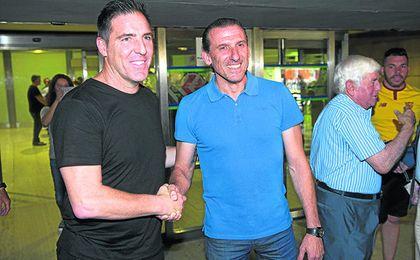 A Eduardo Berizzo le faltan sólo tres semanas para afrontar su debut oficial como entrenador del Sevilla en la previa de la Champions.