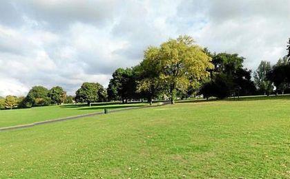 Parque de Mountsfield, lugar del incidente.