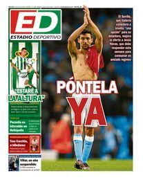 La portada del miércoles de ESTADIO Deportivo