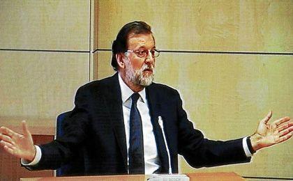 """Rajoy, en el juicio sobre Gürtel: """"Jamás conocí ninguna financiación ilegal"""""""