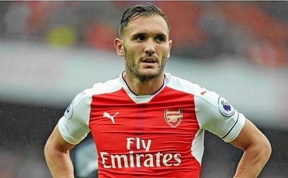Lucas Pérez quiere salir del Arsenal.