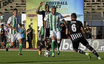 Camarasa, en un lance del partido ante el Besiktas.