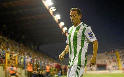 Guardado es una de las nuevas incorporaciones y el primer mexicano en vestir la camiseta del Betis.