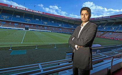 """Al Khelaïfi, al despiste: """"El PSG respeta los contratos"""""""