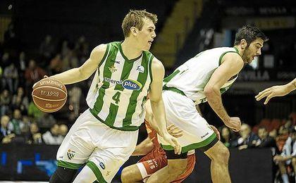 Radicevic, en el duelo disputado contra el UCAM en San Pablo la pasada temporada.