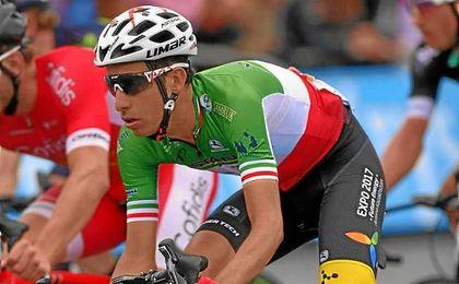 Fabio Aru será el líder del Astana en La Vuelta.