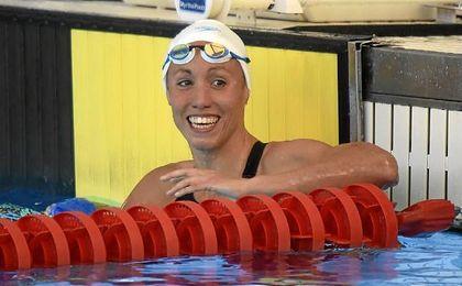 Jessica Vall, campeona de España de 50 metros braza