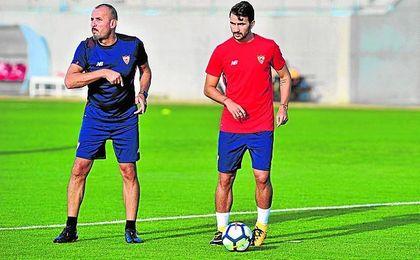 La cesión de Juan Muñoz al Almería se anunciará mañana