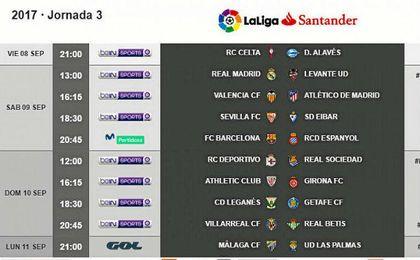 El Villarreal-Betis, el domingo 10 de septiembre a las 20:45 horas