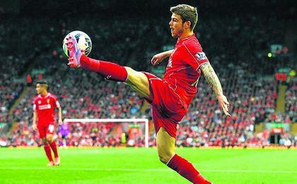 Alberto Moreno podría tener sus días contados en Anfield.