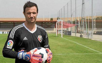 """Manu Herrera: """"Tengo una ilusión bárbara de estar en Osasuna"""""""