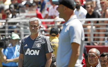 Zidane y Mourinho ya se han visto las caras esta pretemporada.