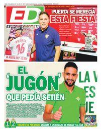 La portada de ESTADIO Deportivo de este jueves