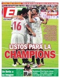 La portada de ESTADIO Deportivo del viernes