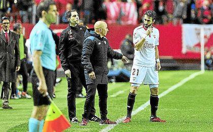 Sampaoli ha contado con Nico Pareja para Argentina.