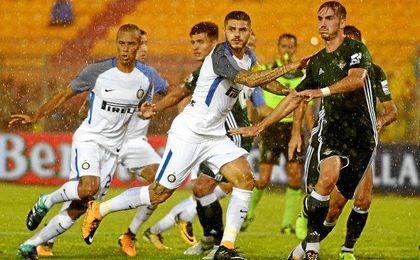 Inter 1-0 Betis: Un error atrás condena a un Betis valiente
