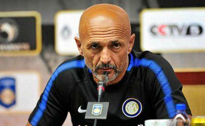 El técnico interista, Luciano Spalletti.