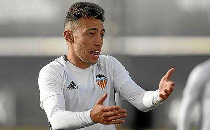 Munir El Haddadi jugó cedido en el Valencia la pasada temporada.