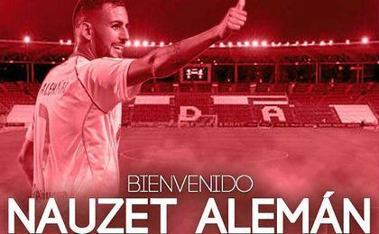 Nauzet Alemán jugará en el Almería.