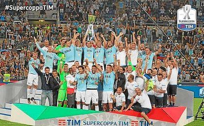 La Lazio se ha impuesto 2-3 a la Juventus en la Supercopa de Italia.