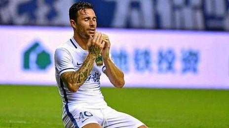 Rubén Castro acumula cuatro goles en cuatro partidos con el Guizhou Hengfeng.