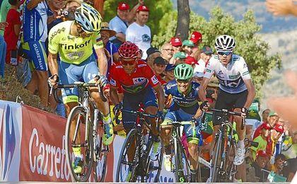 Froome, Contador o Nibali estarán en la Vuelta.