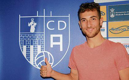 Yeray se ha comprometido con el Alcalá.