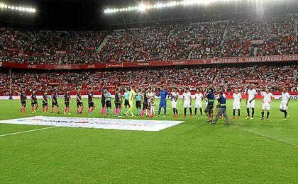 Imagen del Sevilla-Espanyol de la pasada temporada.