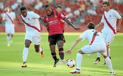 Imagen del amistoso de pretemporada del Sevilla Atlético ante el Mallorca.